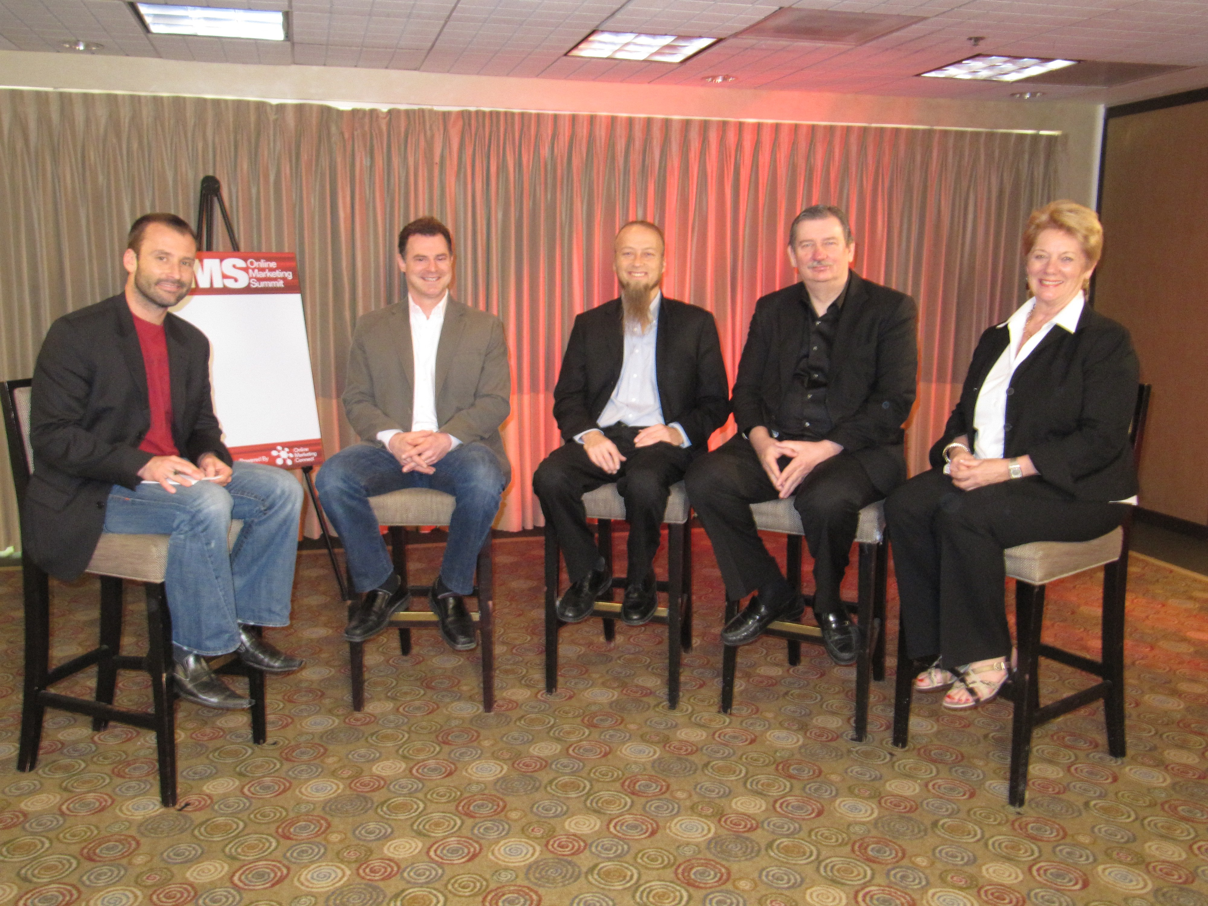 Internet Marketing Expert Aaron Kahlow and Colleagues