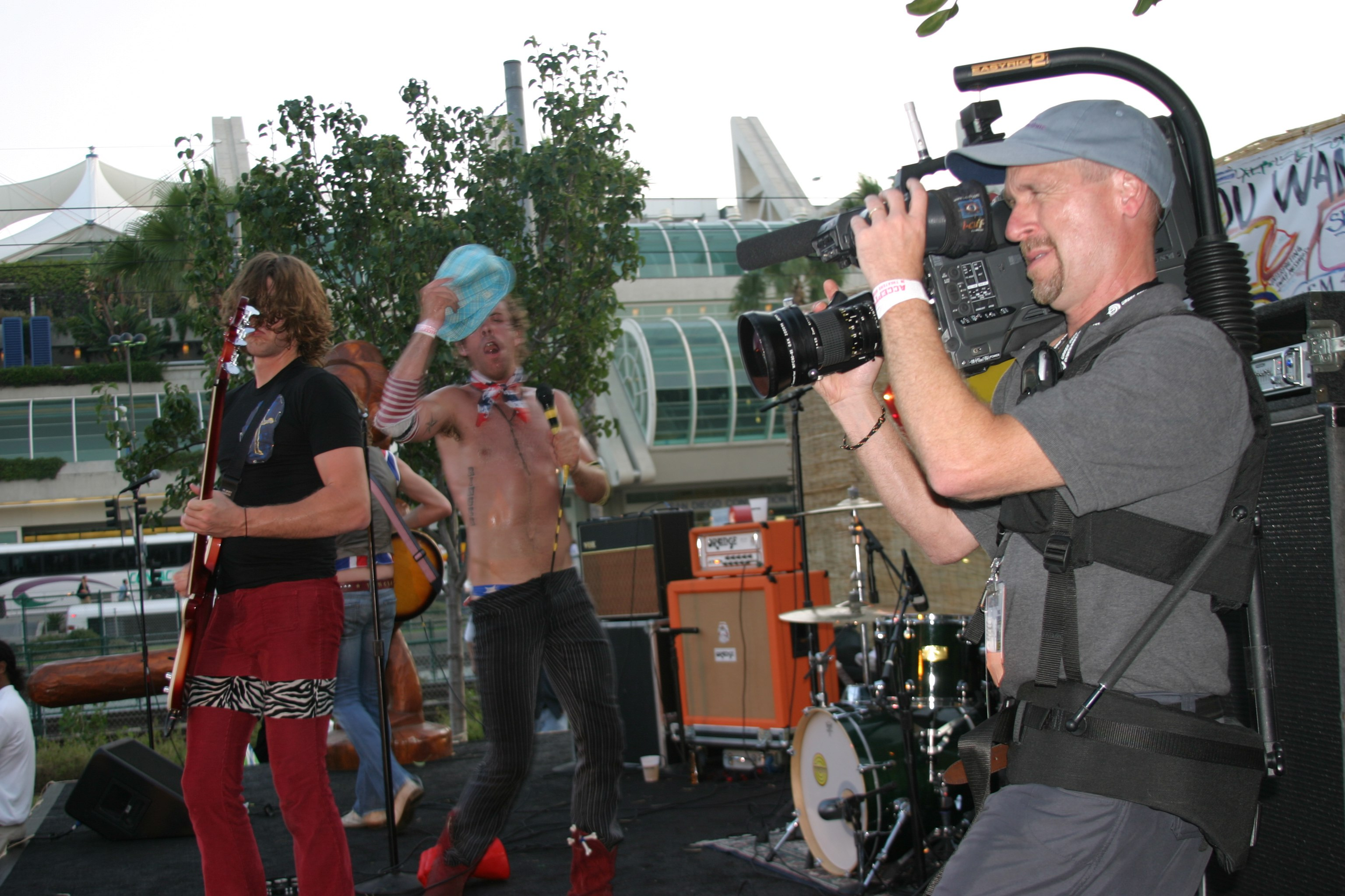 Joe Hursley and Ringers at San Diego Comic Con videotaped by DP Mark Schulze