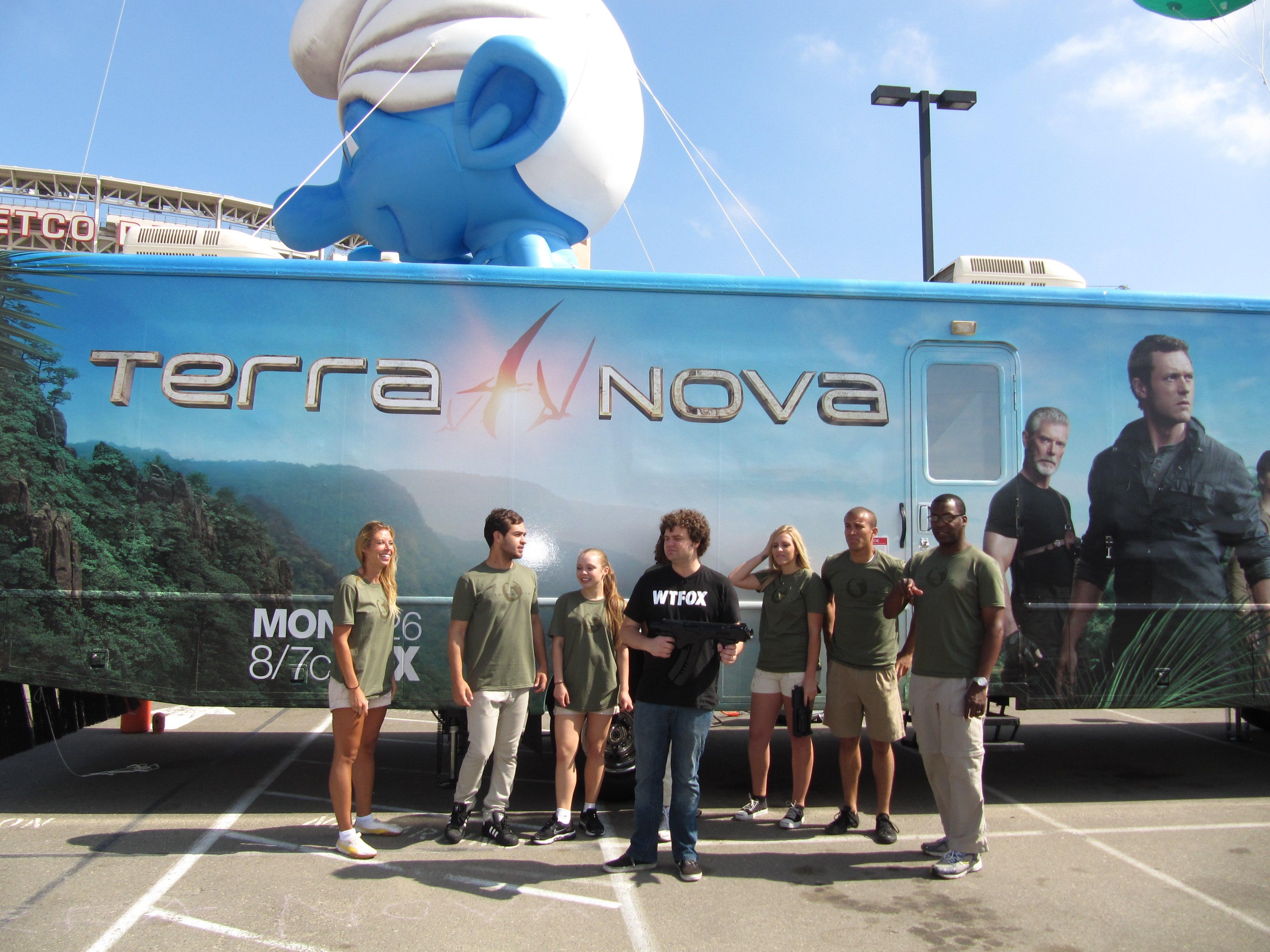 Terra Nova Experience at SD Comic Con 2011