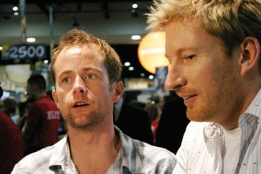 Billy Boyd and David Wendham at San Diego Comic Con