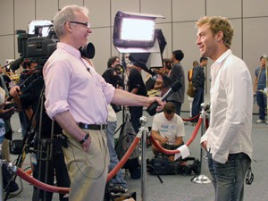 Daily Variety Editor Tim Gray Interviews Jude Law at San Diego Comic Con