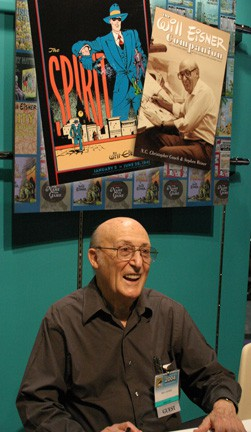 Will Eisner Signs Autographs at Disney Booth