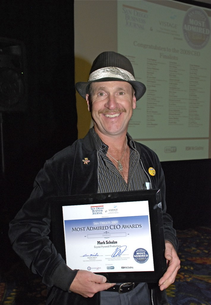 Mark Schulze wins one of many awards