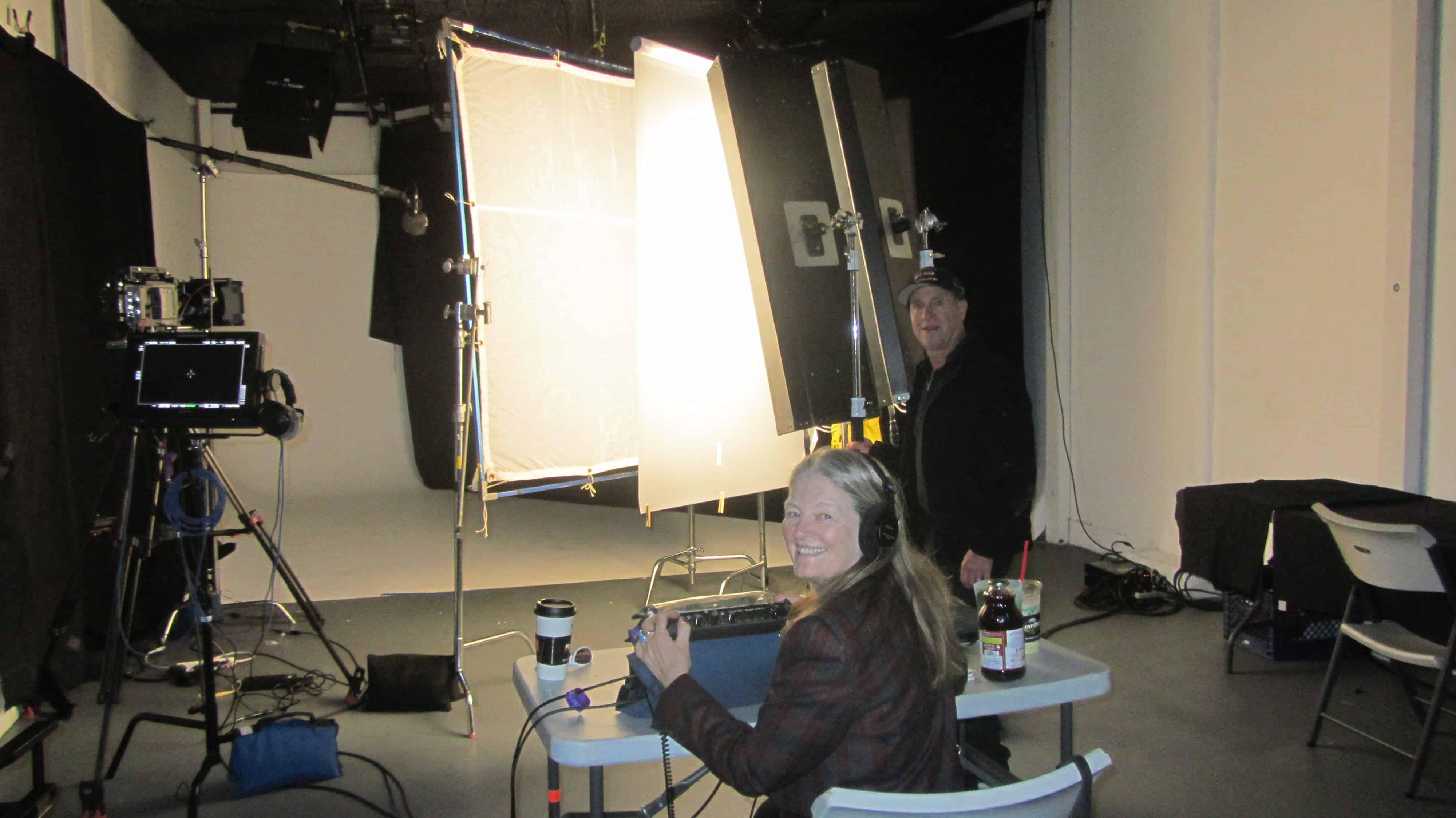 Corporate Camera Crews in Studio
