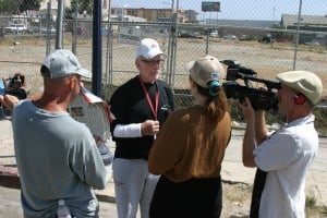 On the street interview with Dave The Waterman Ross about homelessness in San Diego