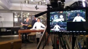 Hyatt cooking show video production with Convergent Design Apollo