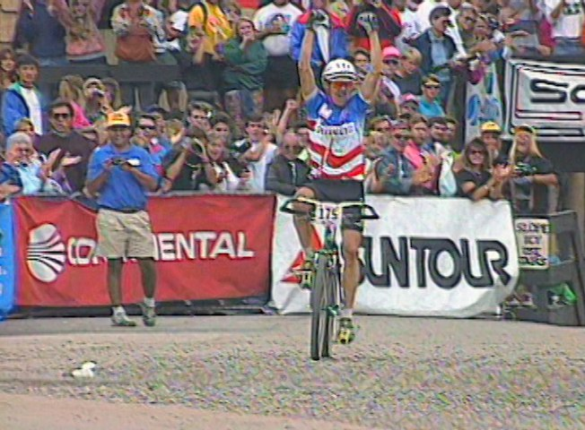 battle at durango ned overend wins