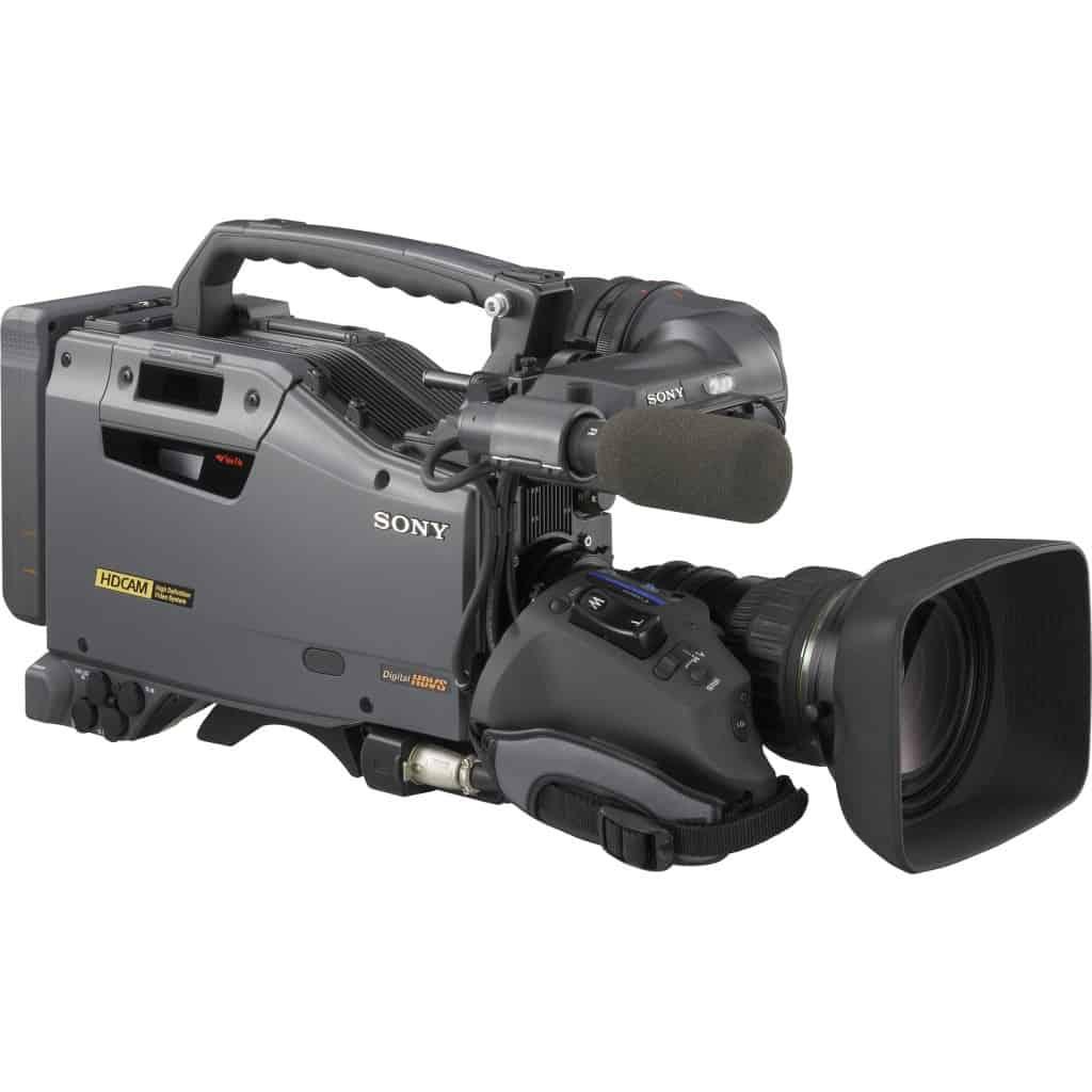 Sony broadcast camera equipment
