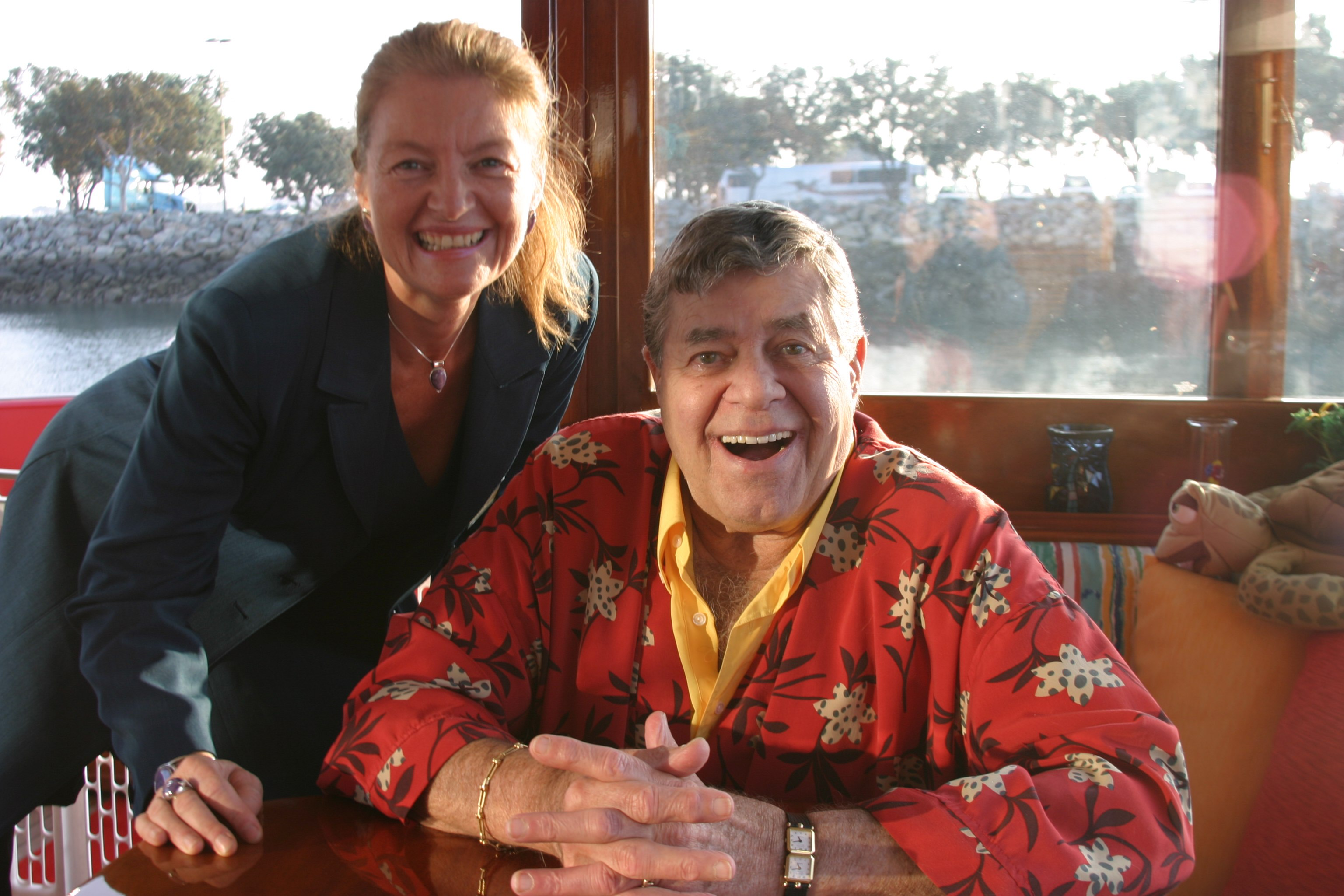 Jerry Lewis and Patty Mooney