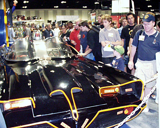 Vintage Batmobile at Comic Con