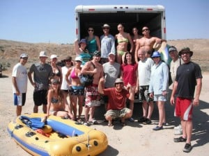 Kern River rafting adventure