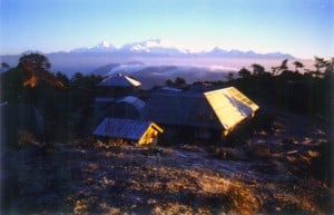 Base camp Sandakphu India