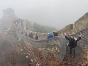 Great Wall of China Green Screen Video