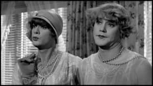 "Tony Curtis and Jack Lemmon in ""Some Like it Hot"""