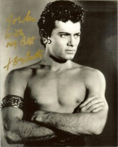 Tony Curtis as Antoninus in Spartacus