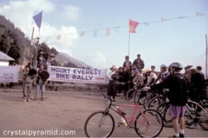 First Ever Himalayan Mountain Bike Rally, 1993