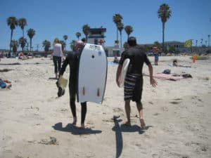 Body Boarding San Diego