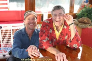 DP Mark Schulze with Comedian Jerry Lewis